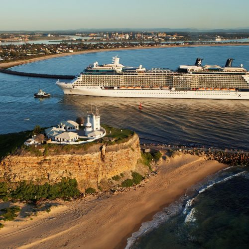 Port of Newcastle image - Maiden voyage of the Celebrity Solstice to Newcastle 3 - 2016-03-09